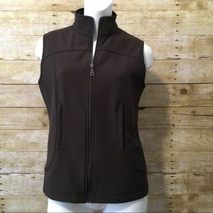Pendleton Brown Zip Up Vest